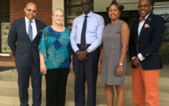 Minister of Justice Welcomes a delegation from AGA, Kigali, Rwanda