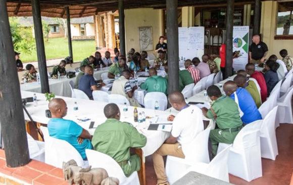 Anti-Wildlife Trafficking Training Workshop, Kasungu, Malawi.