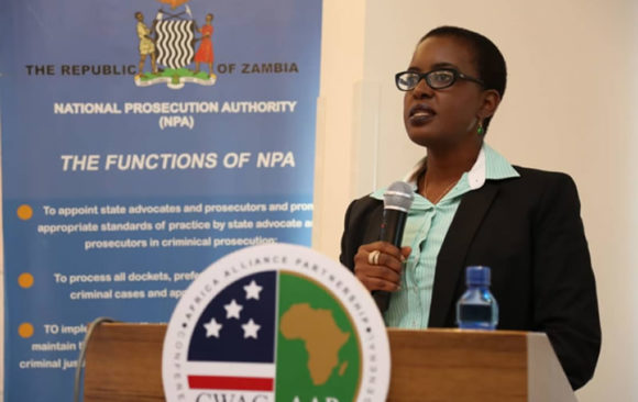 AGA AAP in collaboration with the National Prosecution Authority (NPA) Cybercrime Workshop Lusaka, Zambia.