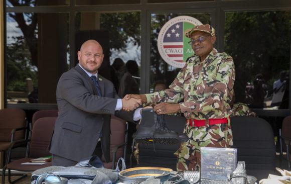 AGA-AAP & WITA Donates Law Enforcement Eqoipment to DNPW, Malawi.