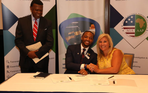 AGA-AAP MOU Signing With The National Black Prosecutors Authority